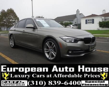 2016 BMW 3 Series for sale at European Auto House in Los Angeles CA