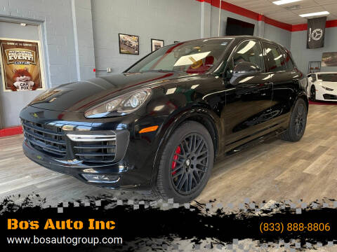 2016 Porsche Cayenne for sale at Bos Auto Inc in Quincy MA