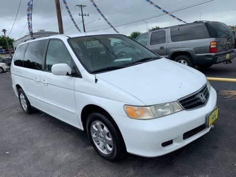 2003 Honda Odyssey for sale at Rock Motors LLC in Victoria TX