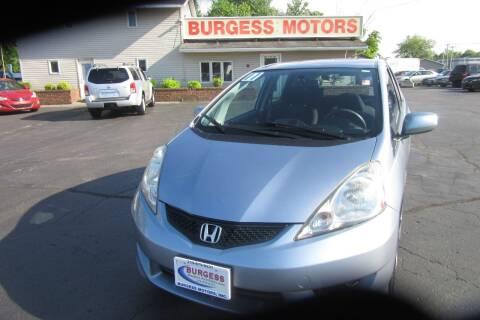 2011 Honda Fit for sale at Burgess Motors Inc in Michigan City IN