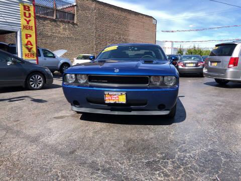 2010 Dodge Challenger for sale at RON'S AUTO SALES INC in Cicero IL