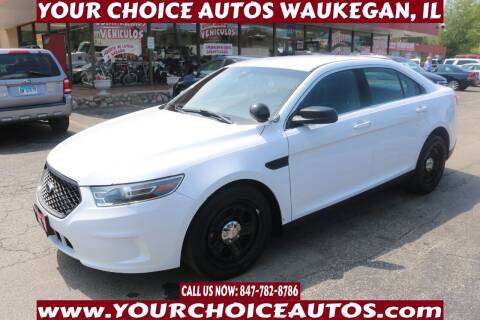 2018 Ford Taurus for sale at Your Choice Autos - Waukegan in Waukegan IL