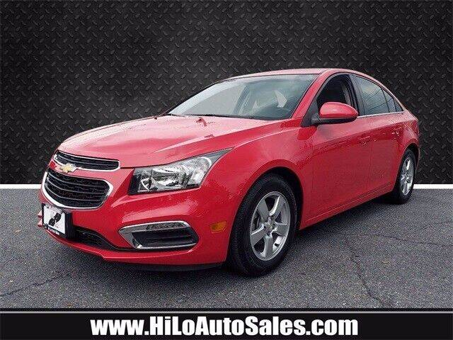 2015 Chevrolet Cruze for sale at BuyFromAndy.com at Hi Lo Auto Sales in Frederick MD