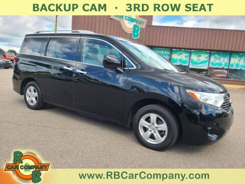 2017 Nissan Quest for sale at R & B Car Co in Warsaw IN
