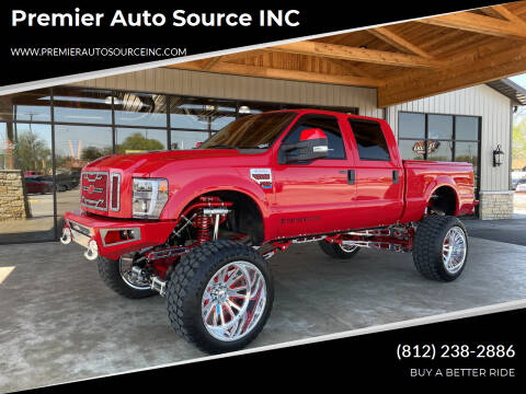 2008 Ford F-250 Super Duty for sale at Premier Auto Source INC in Terre Haute IN