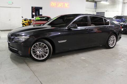 2011 BMW 7 Series for sale at R n B Cars Inc. in Denver CO