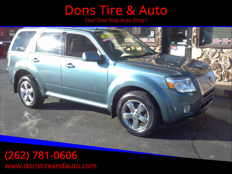 2011 Mercury Mariner for sale at Dons Tire & Auto in Butler WI