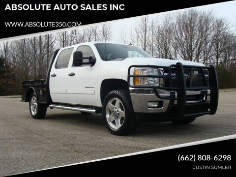 2014 Chevrolet Silverado 2500HD for sale at ABSOLUTE AUTO SALES INC in Corinth MS