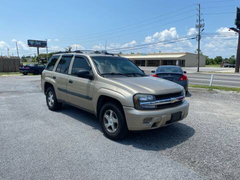2005 Chevrolet TrailBlazer for sale at Lucky Motors in Panama City FL