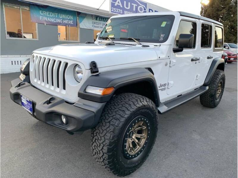 2018 Jeep Wrangler Unlimited for sale at AutoDeals in Daly City CA