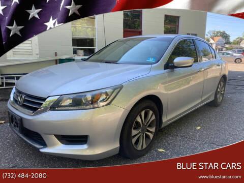 2013 Honda Accord for sale at Blue Star Cars in Jamesburg NJ
