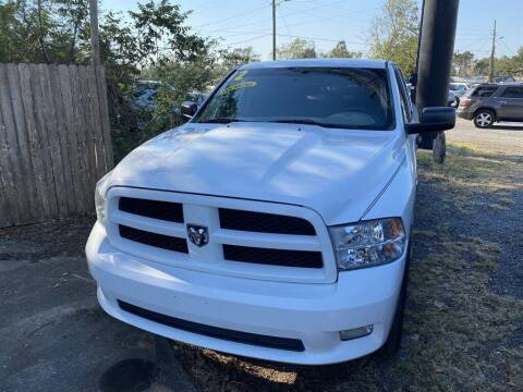 2012 RAM Ram Pickup 1500 for sale at THE COLISEUM MOTORS in Pensacola FL