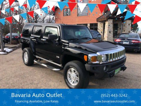 2007 HUMMER H3 for sale at Bavaria Auto Outlet in Victoria MN