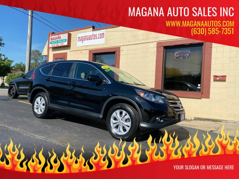 2013 Honda CR-V for sale at Magana Auto Sales Inc in Aurora IL