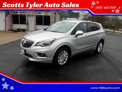 2018 Buick Envision for sale at Scotts Tyler Auto Sales in Wilmington IL