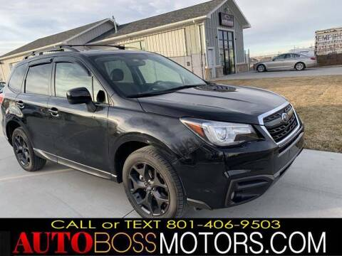 2018 Subaru Forester for sale at Auto Boss in Woodscross UT