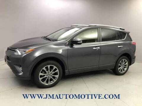 2018 Toyota RAV4 for sale at J & M Automotive in Naugatuck CT