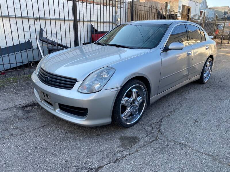 2003 Infiniti G35 for sale at Western Star Auto Sales in Chicago IL