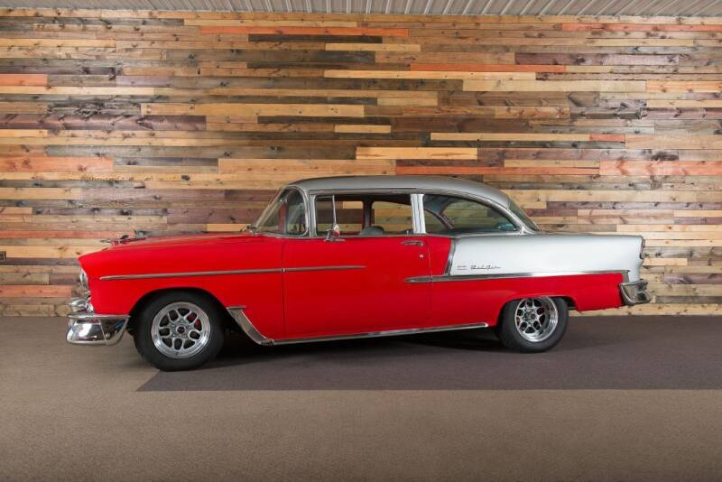 1955 Chevrolet Bel Air for sale at AutoSmart in Oswego IL