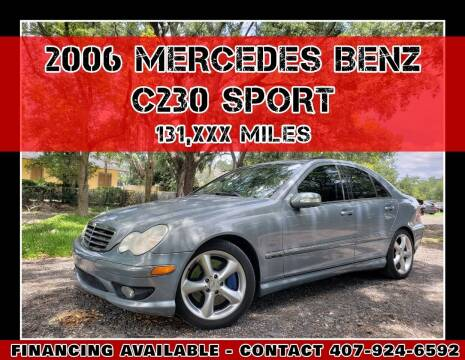 2006 Mercedes-Benz C-Class for sale at AFFORDABLE ONE LLC in Orlando FL