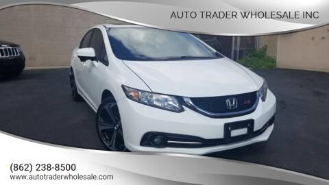 2014 Honda Civic for sale at Auto Trader Wholesale Inc in Saddle Brook NJ