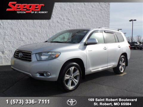 2008 Toyota Highlander for sale at SEEGER TOYOTA OF ST ROBERT in St Robert MO