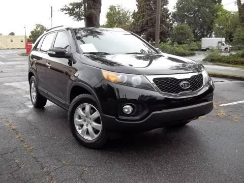 2011 Kia Sorento for sale at CORTEZ AUTO SALES INC in Marietta GA