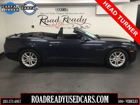 2013 Chevrolet Camaro for sale at Road Ready Used Cars in Ansonia CT
