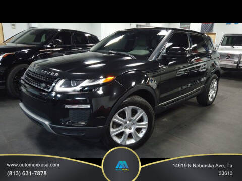 2016 Land Rover Range Rover Evoque for sale at Automaxx in Tampa FL