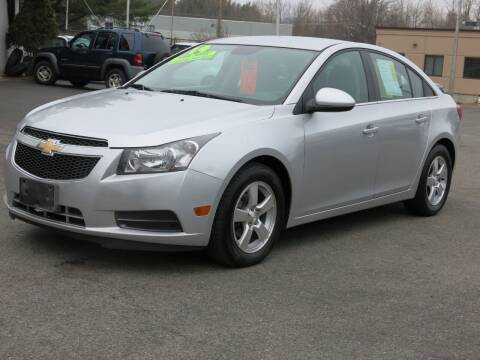 2014 Chevrolet Cruze for sale at United Auto Service in Leominster MA