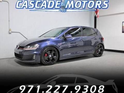 2016 Volkswagen Golf GTI for sale at Cascade Motors in Portland OR