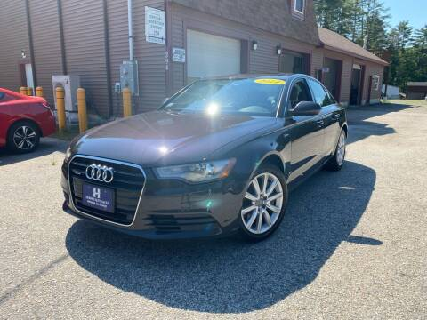 2014 Audi A6 for sale at Hornes Auto Sales LLC in Epping NH