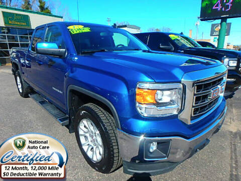 2015 GMC Sierra 1500 for sale at Jon's Auto in Marquette MI
