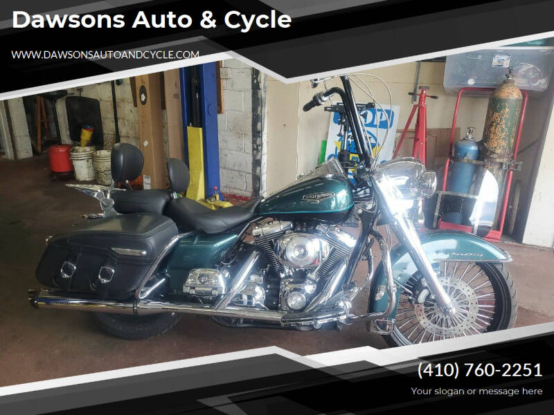2000 Harley-Davidson Road King for sale at Dawsons Auto & Cycle in Glen Burnie MD
