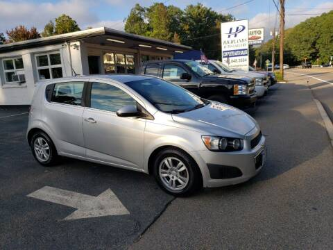 2012 Chevrolet Sonic for sale at Highlands Auto Gallery in Braintree MA