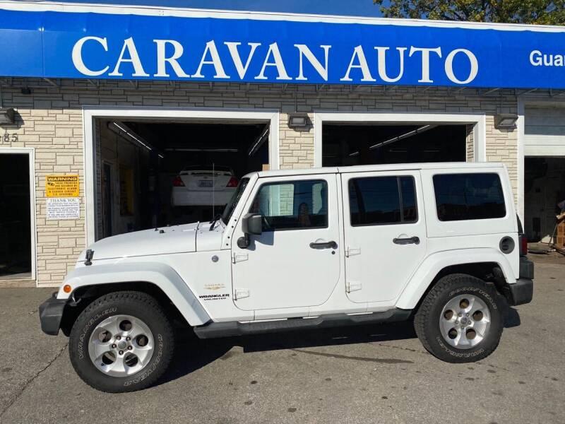 2013 Jeep Wrangler Unlimited for sale at Caravan Auto in Cranston RI