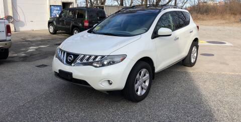 2009 Nissan Murano for sale at Barga Motors in Tewksbury MA