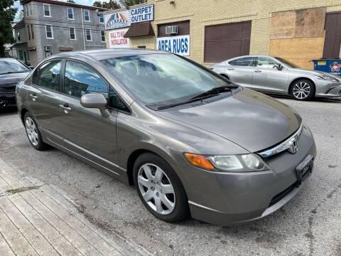 2007 Honda Civic for sale at Quality Motors of Germantown in Philadelphia PA