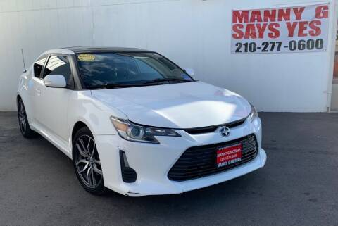 2014 Scion tC for sale at Manny G Motors in San Antonio TX