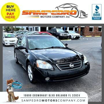 2003 Nissan Altima for sale at SAMPEDRO MOTORS COMPANY INC in Orlando FL