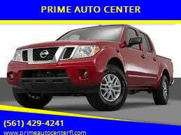 2015 Nissan Frontier for sale at PRIME AUTO CENTER in Palm Springs FL