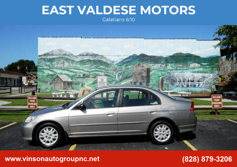 2005 Honda Civic for sale at EAST VALDESE MOTORS / VINSON AUTO GROUP in Valdese NC