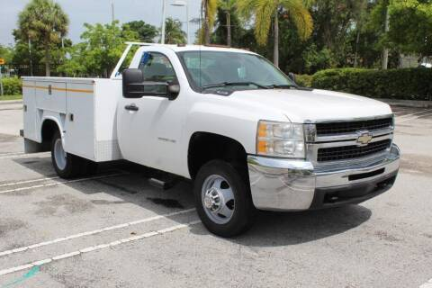 2010 Chevrolet Silverado 3500HD CC for sale at Truck and Van Outlet in Miami FL