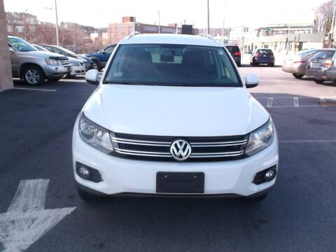 2014 Volkswagen Tiguan for sale at sharp auto center in Worcester MA