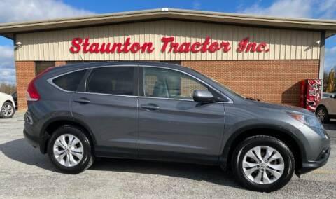 2014 Honda CR-V for sale at STAUNTON TRACTOR INC in Staunton VA