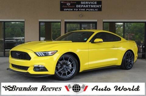 2015 Ford Mustang for sale at Brandon Reeves Auto World in Monroe NC