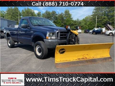2003 Ford F-250 Super Duty for sale at TTC AUTO OUTLET/TIM'S TRUCK CAPITAL & AUTO SALES INC ANNEX in Epsom NH