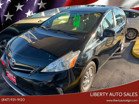 2014 Toyota Prius v for sale at Liberty Auto Sales in Elgin IL