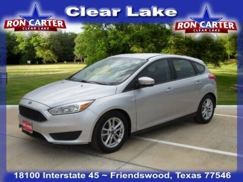2016 Ford Focus for sale at Ron Carter  Clear Lake Used Cars in Houston TX