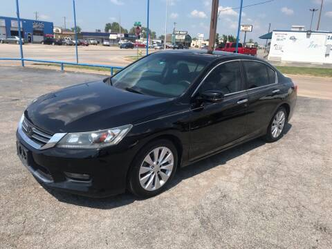 2014 Honda Accord for sale at Superior Used Cars LLC in Claremore OK